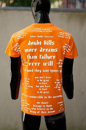 Doubt Kills- Safety Orange