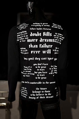 Doubt Kills Long Sleeve Shirt