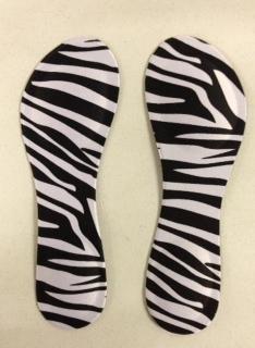 Insole Zebra