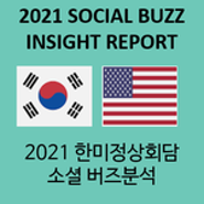 2021 한미정상회담 소셜 버즈분석