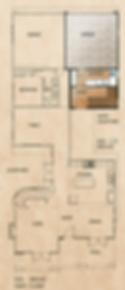 505 1/2 Orchid Floorplan (First Floor)