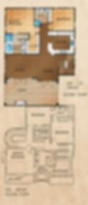 505 1/2 Orchid Floorplan (Second Floor)