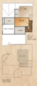 505 1/2 Orchid Floorplan (Third Floor)