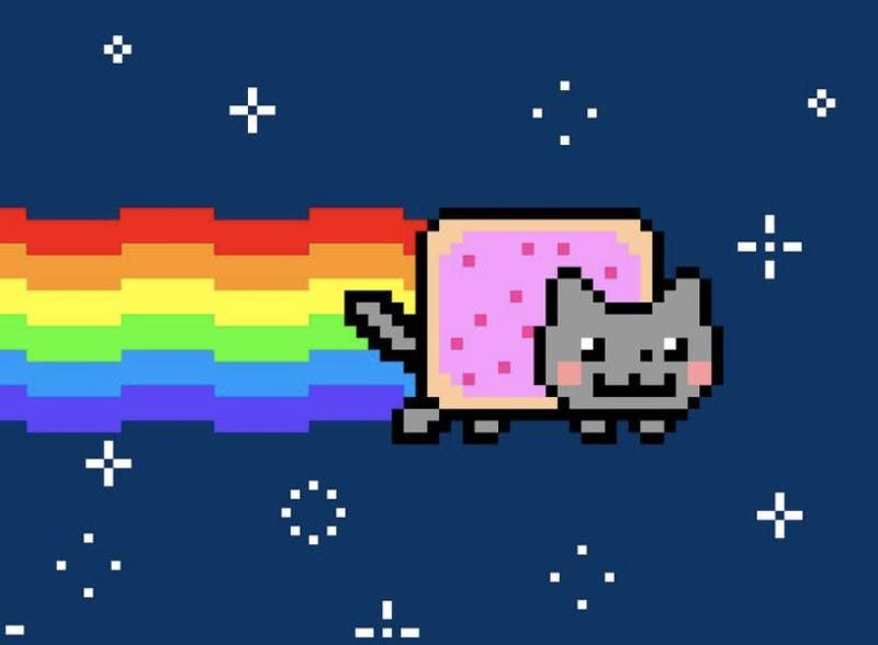 Cat gif NFT