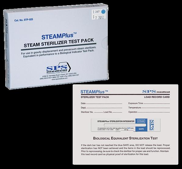 Pacote Teste Desafio (PCD) STEAMPlus com Indicador Químico Tipo 5