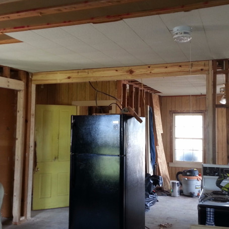 Framing a Farmhouse