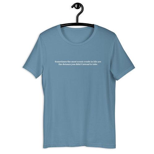 Scenic Roads Detour Short-Sleeve Unisex T-Shirt