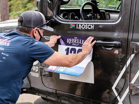 Tech Inspection - 2020 Rebelle Rally
