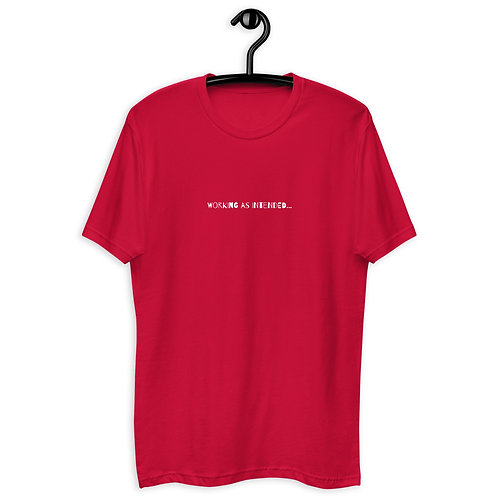 Working as Intended - Short Sleeve T-shirt copy copy