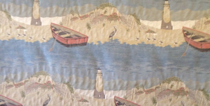 Lighthouse Upholstery Fabric