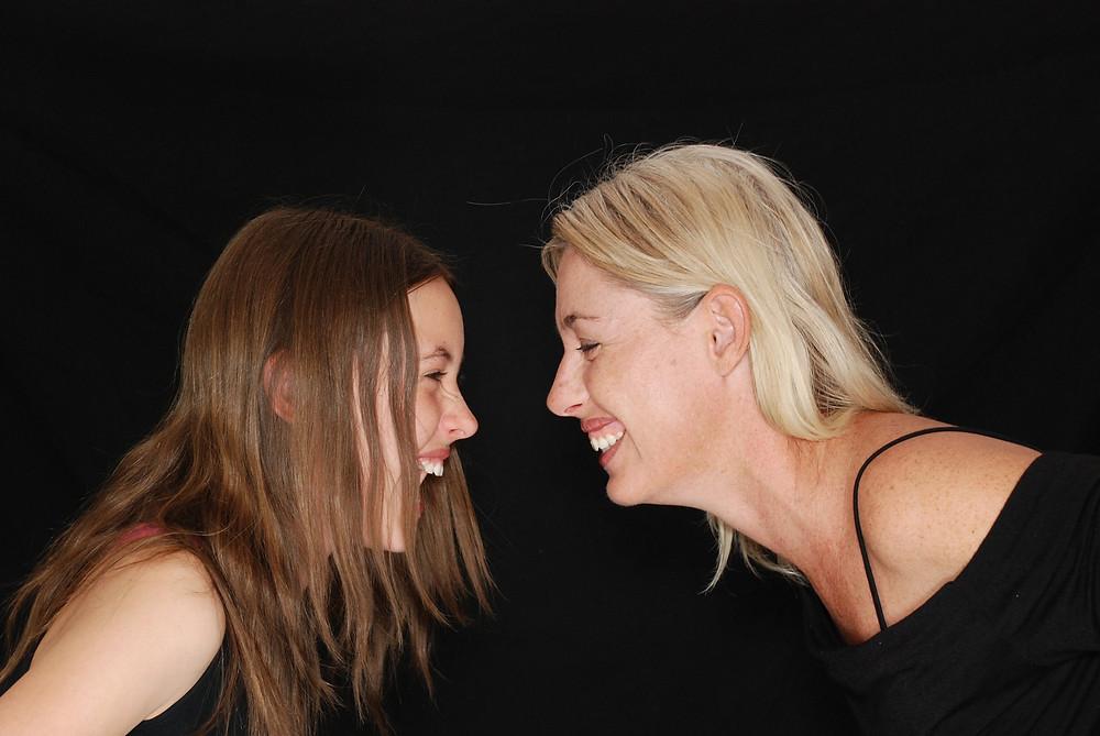 Máma a dcera se hádají i milují