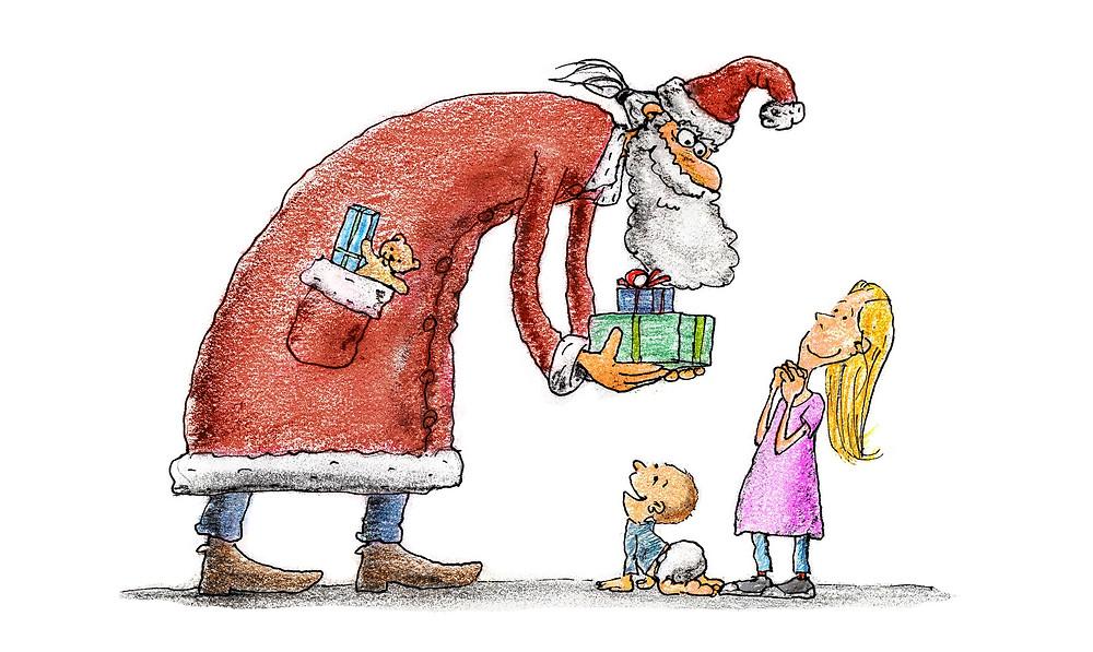 Nástrahy Vánoc na děti a jejich rodiče