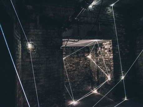 Carlo Bernardini - Invisible Dimensions, 2018