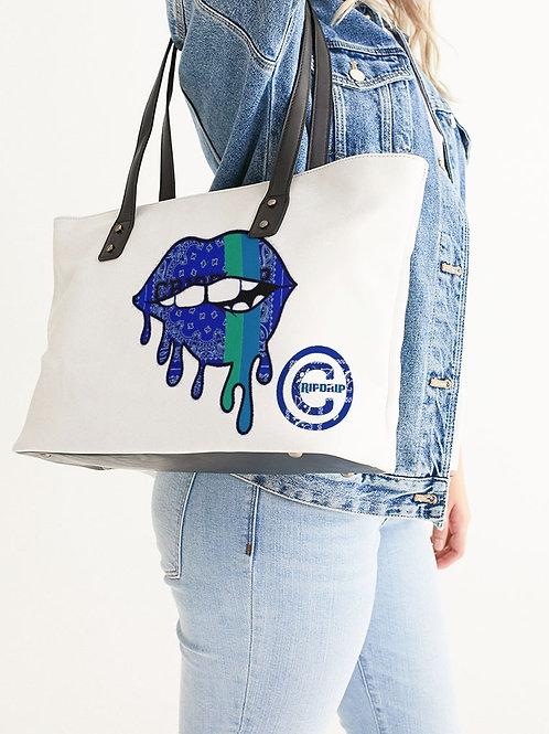 BLUE LIPS TOTE BAG