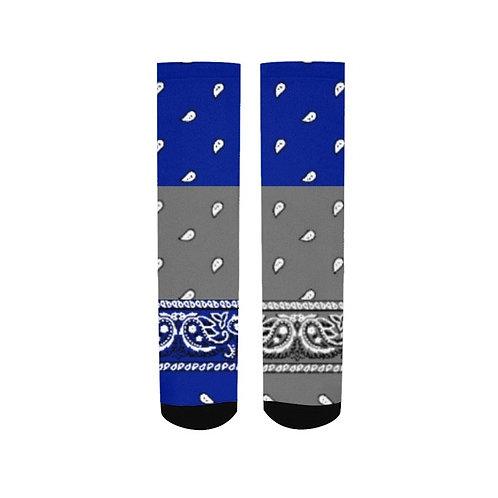 BLUE N GRAY SOCCS