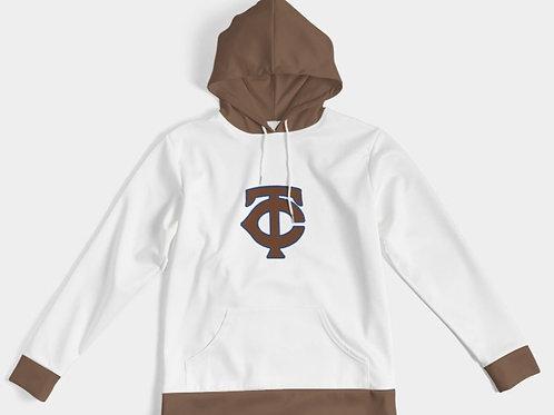 BROWN TC HOODY BROWN/WHITE