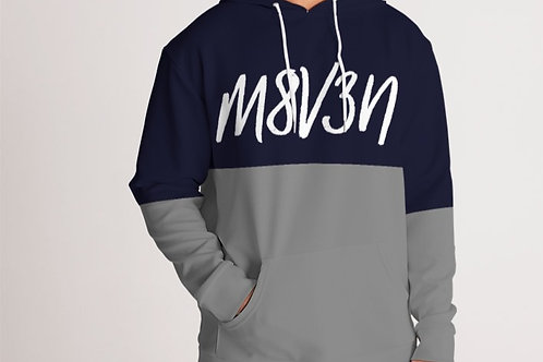 NAVY BLUE / GREY HOODY