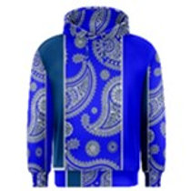 ROYAL BLUE BANADANA HOODY