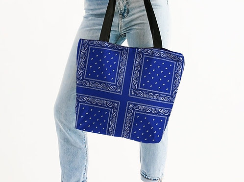 BLUE RAG TOTE BAG (ROYAL)