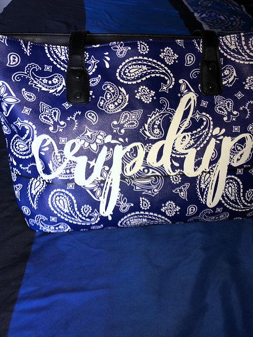 CripDrip Tote Bag (Navy blue rag)
