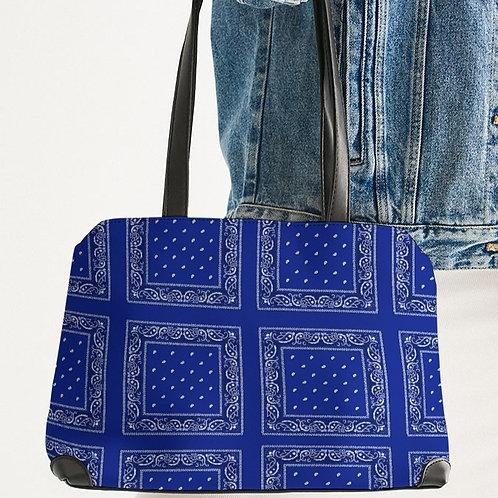 BLUE RAG SHOULDER BAG