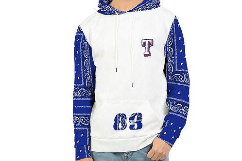 EIGHTY THREE RAG SLEEVE HOODY