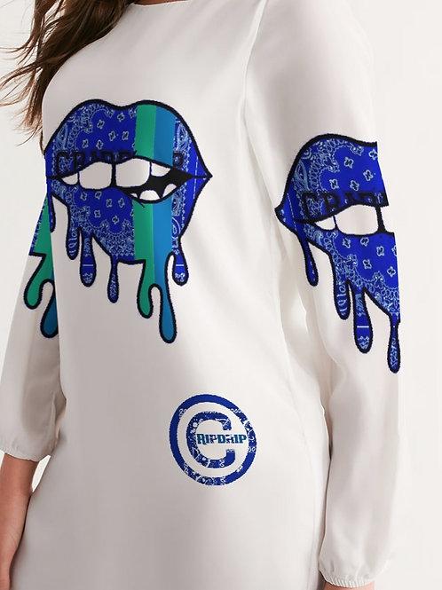 BLUE LIPS DRESS