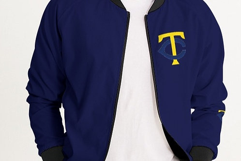 SOLID NAVY BLUE TC BOMBER