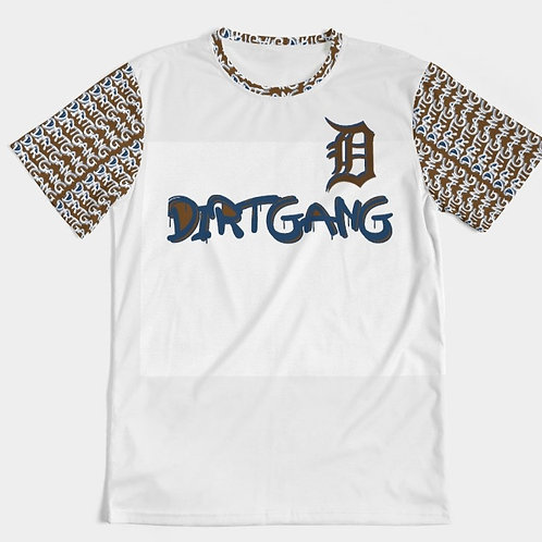 DIRT GANG TEE (BROWN/WHITE)