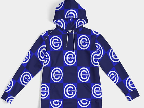 CHECCERED BLUE HOODY