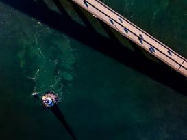Jamestown Verrazzano Bridge, Jamestown, RI
