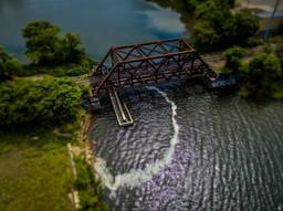 Omega Rail Bridge.  East Providence, RI.