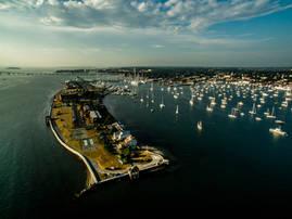 Goat Island.  Newport, RI.