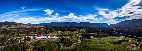 """Mount Washington.:   12""x34"" Acrylic Panoramic"