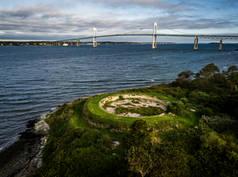 Fort Hamilton.  Rose Island, RI.