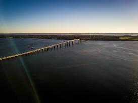 Jamestown Verrazzano Bridge, Jamestown, RI.