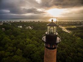 Currituck Beach Light.  Corolla, NC.