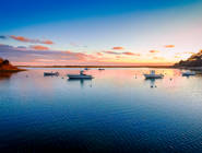 """""""Sunset on the Oyster River."""""""