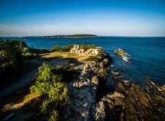 Battery Keyes.  Cape Elizabeth, ME.