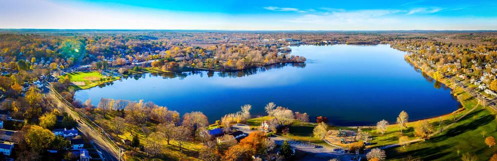 Lake Quannapowitt.  Wakefield, MA.