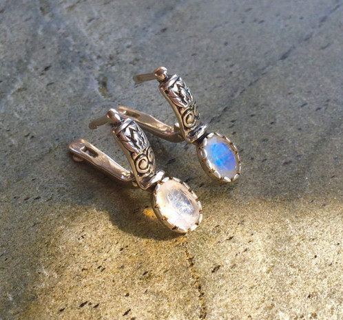 moon l moonstone stone earrings finds s blue fab signed darla ea full russian item glowing dff