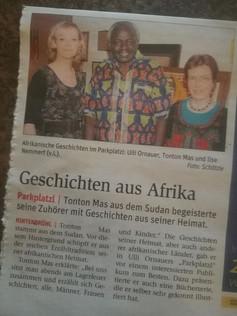 Geschichten aus Afrika im Parkplatzl, NÖN
