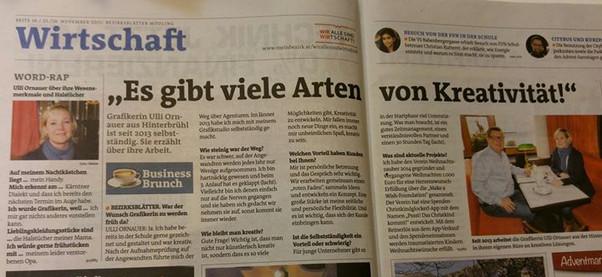 Interview, Bezirksblätter Mödling