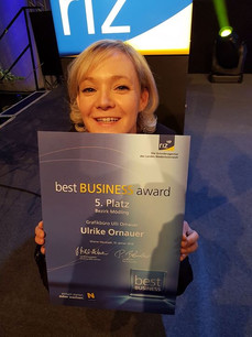 5. Platz beim Best Business Award