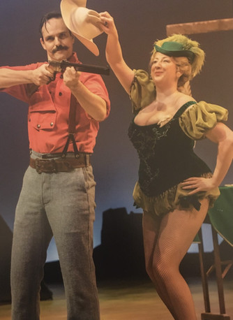 Playing Dolly Tate in Annie Get Your Gun, Sheffield Crucible Theatre