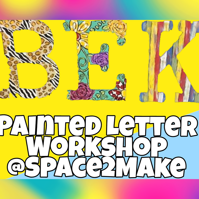 Learn to Handpaint A Large Letter Door/Wall Sign
