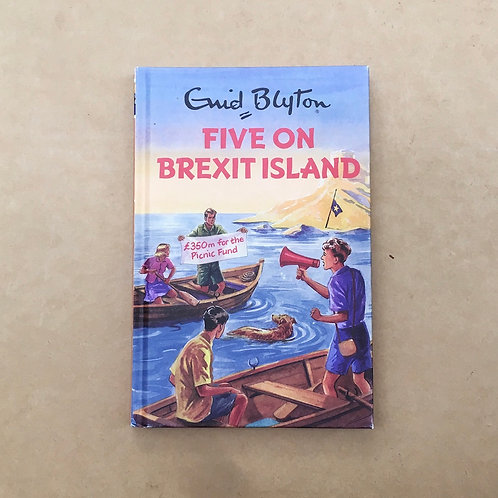 Folding Book Lamp - Five On Brexit Island - Enid Blyton