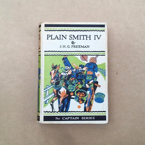 Plain Smith IV - J.H.G.Freeman
