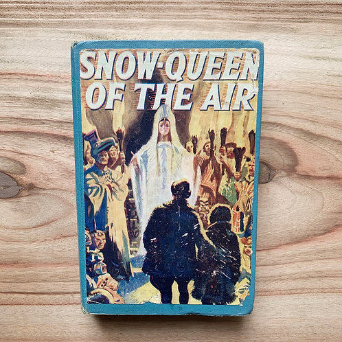 Snow Queen of the Air - Folding Book Lamp