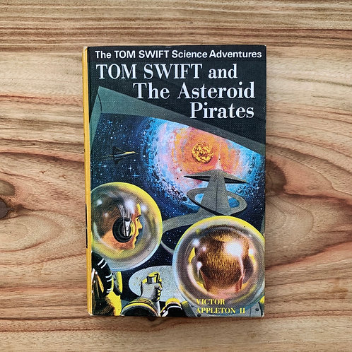 Tom Swift and the Asteroid Pirates - Folding Book Lamp